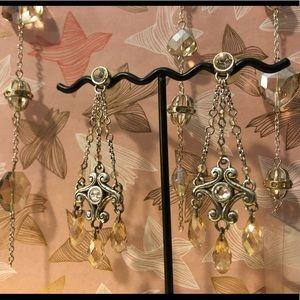 Vintage Brighton Swarovski crystal chandeliers